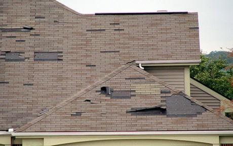 Wind Roof Damage