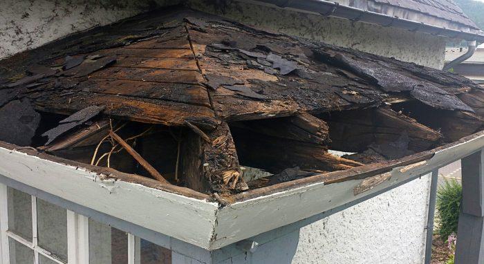 roof repair in Mansfield